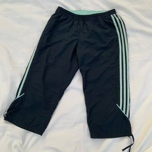 Adidas shorts blue and teal